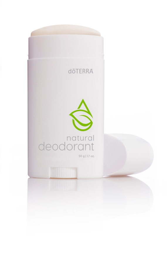 doTERRA Natural Deodorant is a natural formula infused with Cypress, Melaleuca (Tea Tree), Cedarwood, and Bergamot essential oils to create an effective, odor-fighting product for both men and women. These powerful essential oils inhibit underarm odor while leaving a fresh, clean scent. Known for their skin-nourishing properties, beeswax and coconut oil make this unique formula glide on easily for a smooth application. Shea butter hydrates skin and absorbs quickly, contributing to the product's non-greasy, light feel. doTERRA Natural Deodorant is a safe, natural option for preventing odor throughout the day.