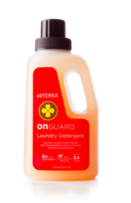 This small bottle packs a punch with 10 mL of doTERRA On Guard essential oil and the ability to do up to 64 loads of laundry! It is color safe for washable fabrics at all temperatures and is free of synthetic fragrances, dyes, and toxins, which makes it a safe choice for your family as well as the environment.